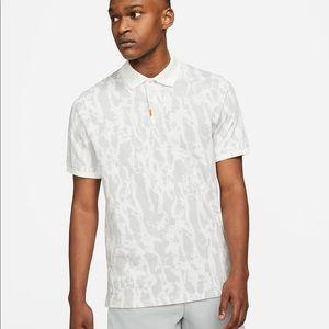 The Nike polo shirt